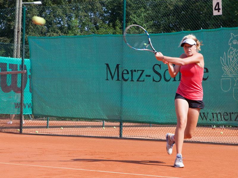 Tennis an der Merz Schule