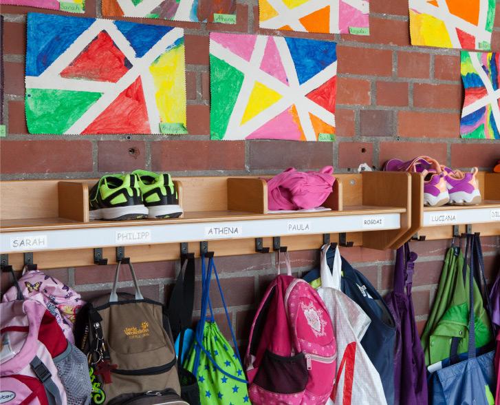 Kindergarten Garderobe