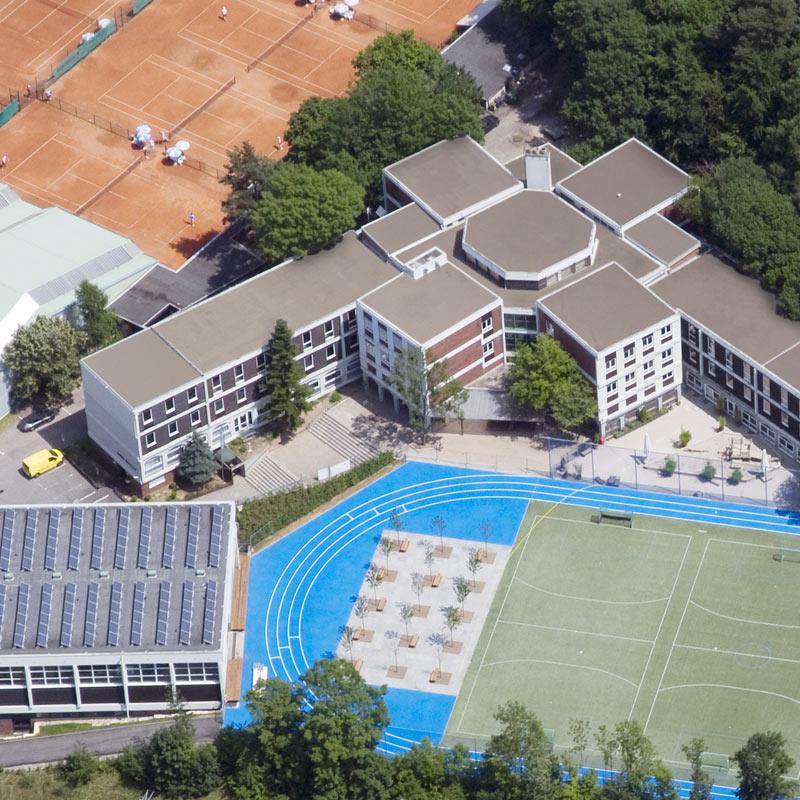Areal der Merz Schule